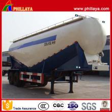 Flyash Transport 2 Axles Powder Bulk Cement Tanker Semi Trailer