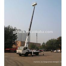 Camión de plataforma de trabajo de alta altitud extensible de 18M Carro de aislamiento de 360 grados y brazo aislado