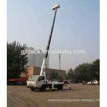 18M Extendable high altitude working platform truck 360 degree Insulating carrier and insulated arm