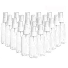 Botella desinfectante de plástico PET transparente para limpieza