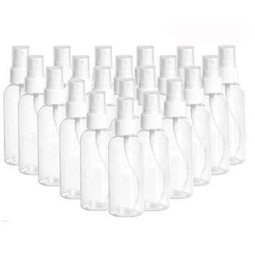 Clear PET plastic disinfectant bottle for Cleaning