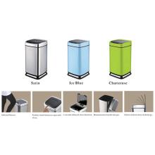 Sensor Mülleimer mit hängender Kunststoffhalterung