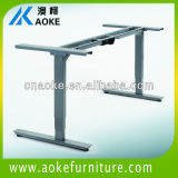 Iron adjustable height desk frames for office and school