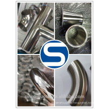 Edelstahl-Sanitär-Rohrverschraubungen Lebensmittelqualität / Bier Fass Montage