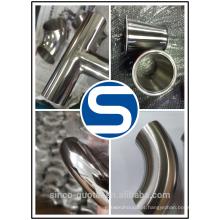 encaixe sanitário do aço inoxidável dos encaixes de tubulação do aço inoxidável / barril de cerveja