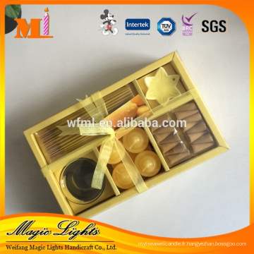 Bougies parfumées Designer en différentes formes et tailles