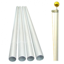 High Strength Aluminum Telescopic Flagpole