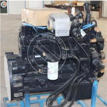 Conjunto de motor YUCHAI YC210LC-8 6BTA5.9 motor CUMMINS