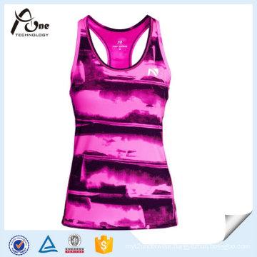 Y-Back Women Custom Tank Top Running Wear for Sports