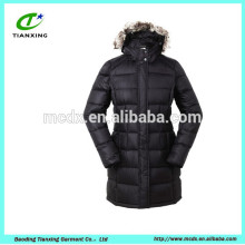 new fashion korean long style ladies coat