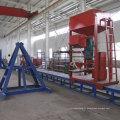 Machine d'enroulement de poteau d'éclairage de filament de FRP