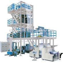 Drei-Schicht-Co-Extrusion Internal Bubble Cooling Abzugsdrehfolie Produktlinie kleine Kunststoff-Spritzgießmaschine