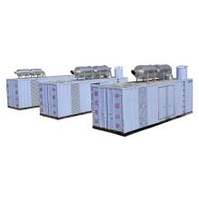 Central elétrica do gerador 1500kw diesel