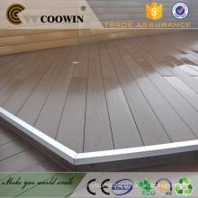 Waterproof outdoor deck flooring