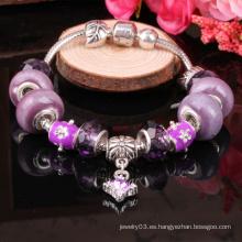 Pulsera de perlas brazalete de moda 2014