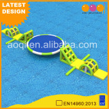 AOQI newest inflatable toy floating round swing water games for summer