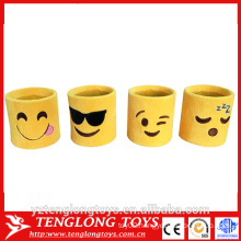 hot selling emoji cup holder, plush emoji pen holder