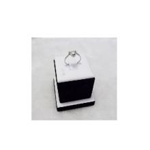 Exhibición de madera del anillo de la joyería de la PU al por mayor (RS-WBP-1)