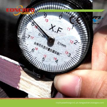 O filme enfrentou a madeira compensada de cofragem / madeira compensada da construção do fabricante de China
