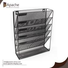 Best Price for for Newspaper Displays High Quality Wall Mounted Magazine Holder export to Singapore Exporter