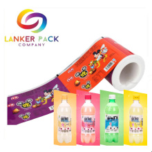 Milk bottle packaging roll film