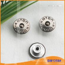 Metal Botões, Custom Jean Pins BM1356