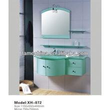 2013 Latest High glossy painted pvc bathroom vanity unit