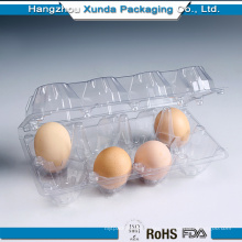 Wholesale 8 Compartment Plastic Egg Tray