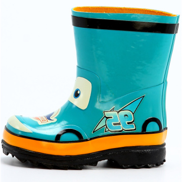 Children's Lovely Cartoon Printing Rubber Boots