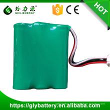 Recargue la batería de 3.6v NI-MH AA 1800mah