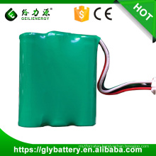 Recharge 3.6v NI-MH AA 1800mah battery