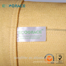 High quality low price p84 dust filter bag bag filter nonwoven bag