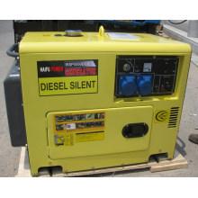 Générateur diesel à 6kw (6kVA) / générateur silencieux