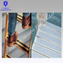 Cinta antideslizante impresa logotipo de encargo del precio de fábrica para la nariz luminosa de la escalera