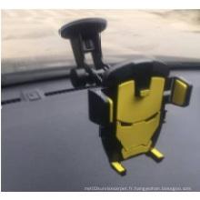 Le support de voiture avec téléphone portable intelligent ABS-PVC