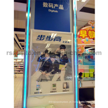 caixa de luz de quadro de cartaz de LED de face única