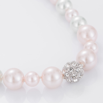 Fashion Jewelry Charm Pearl Necklace