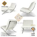 Weißes Leder-Freizeit-Stuhl (GV-BC02)