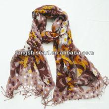 mehrfarbiger Pashmina-Viskose-Schal