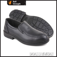 Genuine Leather Office Working Shoe with Steel Toe (SN5277)