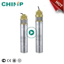 CHIMP SK serie 1.0HP 380V bomba sumergible de agua limpia boring ruso