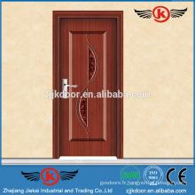 JK-SW9002 porte intérieure porte forgée en bois porte en gros