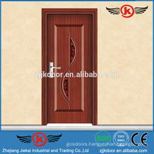 JK-SW9002 interior door frame forged iron wooden door wholesale