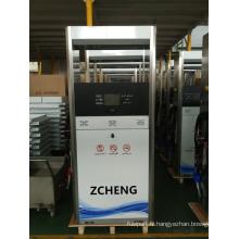 Distributeur de carburant électrique de la station-service ZCHENG (buse simple ou double buse)