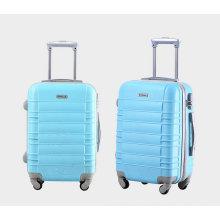 АБС Жесткий чехол путешествия комплект багажа вагонетки