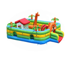 Fun park china inflatable bounce bed