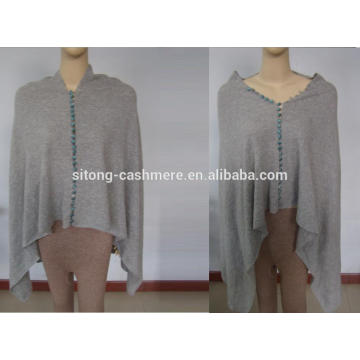 women fashion cashmere shawl,cashmere cape