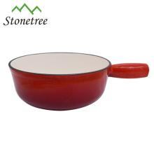 Cacerola de arcilla de hierro fundido esmaltado de alta calidad / ollas para utensilios de cocina / ollas para cocinar