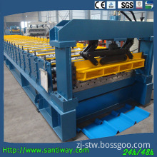 Professional Trapezoidal Roof Panel Roll Forming Machine