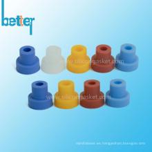 Mecanizado de piezas NBR / PU Buje de manguito de goma reductor